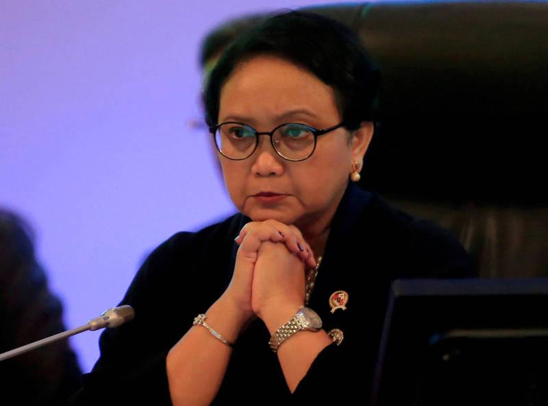 《路透》指出,印尼外交部長勒特諾將在週四飛往緬甸。(路透)