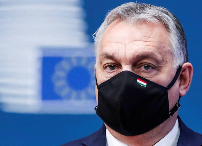 匈牙利總理奧班今日宣佈開始使用中國國藥疫苗。(路透資料照)