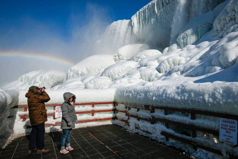 極地渦旋近期襲捲美國,許多地區創下20年來新低溫紀錄。(路透)
