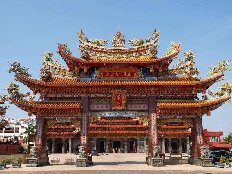 南市安南區鹿耳門天后宮也是宗教文化觀光聖地。(台南市府提供)