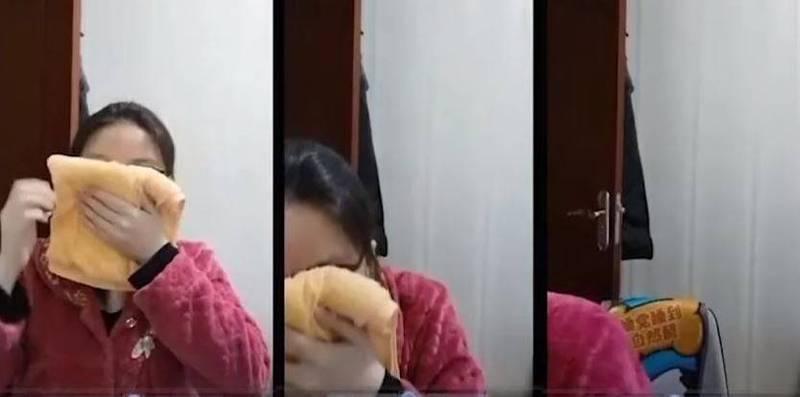 中國一名正妹醫生「婦產科的陳大夫」拍攝影片,親自示範若吸到麻醉藥物「七氟烷」(Sevoflurane)是否會馬上昏迷,影片曝光後引發議論。(圖擷取自微博)