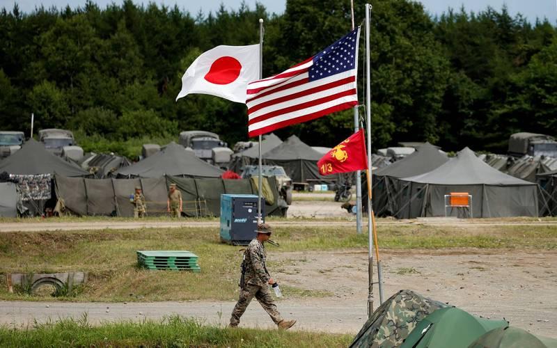 美日軍事合作頻率逐年增加。(路透)
