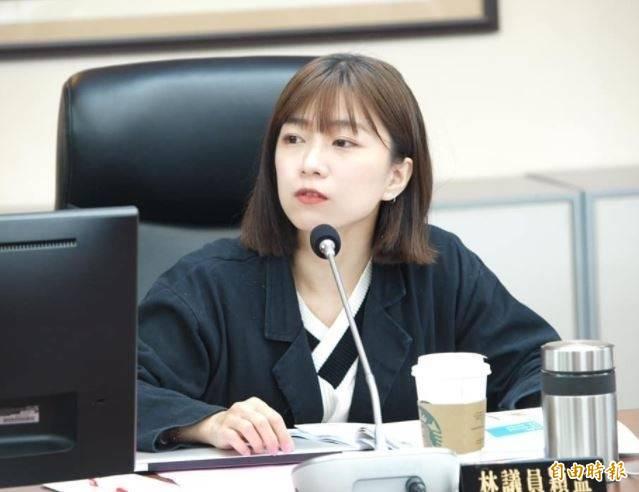 林穎孟回擊,她理性問政、務實監督,柯市長要見笑轉生氣她也沒有辦法,也請市長不要逃避、務實面對問題。(資料照)