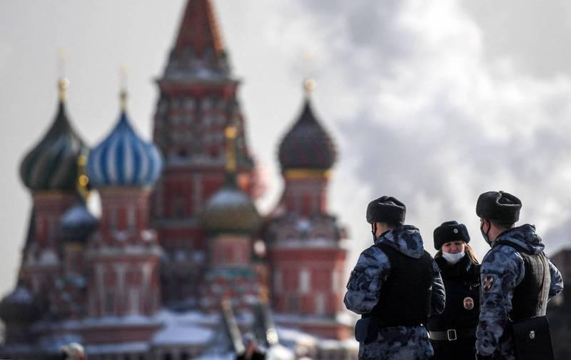 一名男子被控將機密資訊交給中國,遭俄羅斯法院判處8年徒刑。(法新社)