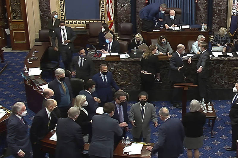 美國參議院議員反對將「最低時薪15美元」納入疫情紓困方案。(美聯社)