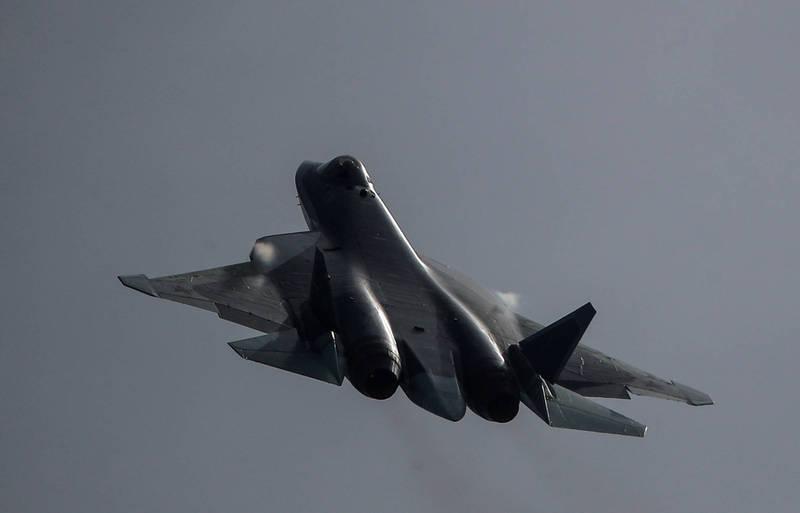 俄羅斯軍方相關人員近日向俄媒表示,已有多國提出Su-57E戰機引入請求,圖為Su-57戰機。(路透資料照)