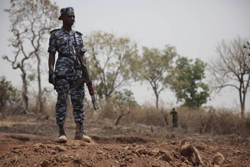 奈及利亞傳大規模綁架事件,政府正在跟民間合作搜救。示意圖。(美聯社)