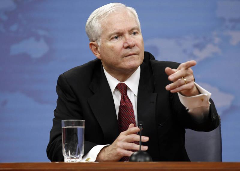 蓋茲(Robert Gates)曾經在小布希、歐巴馬政府擔任國防部長。(美聯社資料照)