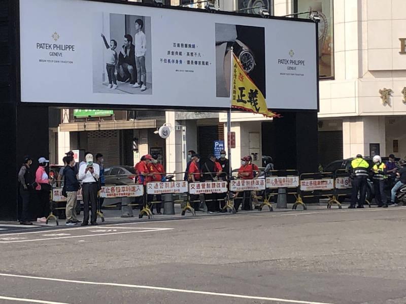 蔡英文參加228紀念儀式 獨派、反年改人士抗議都被隔開 - 政治 - 自