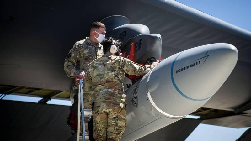 為對抗中俄在高超音速武器領域的研發成果,美國將高超音速武器發展列為最優先項目。(路透)