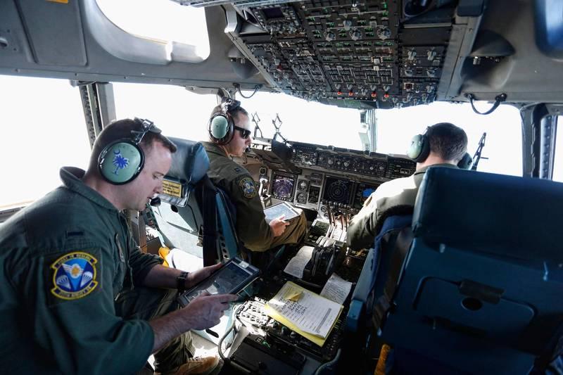 美国通用动力公司与诺斯罗普·格鲁曼公司,近日拿下美军约新台币1221亿元合约,为美空军提供「特准接触项目」安全支持服务,图为美军C-17货机执行人道任务。(法新社)(photo:LTN)
