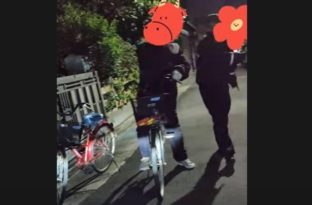 原PO分享社區警衛趕他走的影片,引起網友討論。(圖擷取自「台北生活好難」YouTube頻道)
