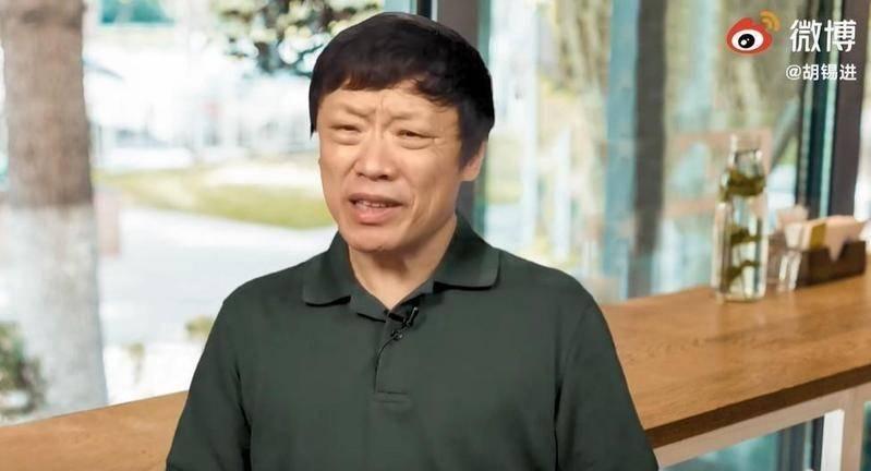 胡錫進日前在微博上放話,稱要搞台灣方法很多。(翻攝自胡錫進微博)