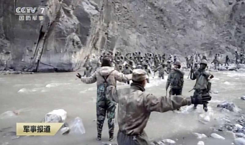 中國與印度在去年於邊界爆發死傷衝突,遲至今年2月19日中國才首度發布消息,聲稱解放軍4死1傷。(美聯社)