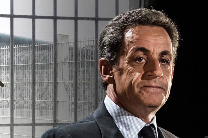 法國前總統薩科茲(Nicolas Sarkozy)今(1)日因貪污罪被法院判處帶有2年緩刑的3年徒刑,他將因此成為法國史上第一位入監服刑的總統。(法新社、歐新社資料照;本報合成)