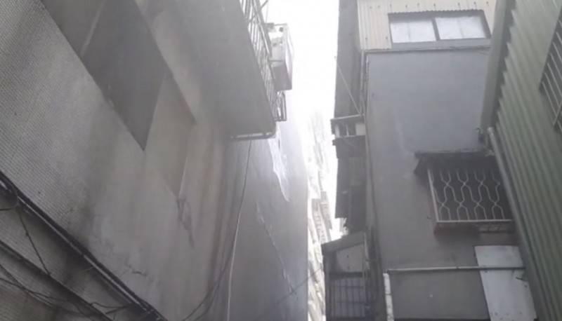 北市萬華區環河南路一段一棟老舊公寓住宅去年11月發生火災。(資料照)