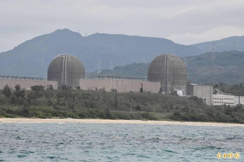 東南外海地震恆春震度4級,核三廠無礙正常運作。(記者蔡宗憲攝)