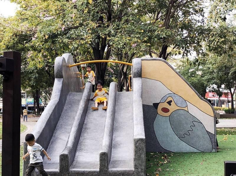 台中「超前佈署」年底前可望改善全市561處公園兒童遊戲場。(圖:市府提供)