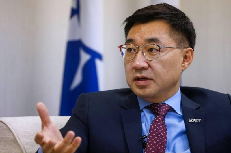 江啟臣:在野黨領袖不急與對岸領導人見面 - 政治 - 自由時報電子報