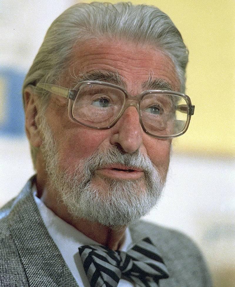 蘇斯博士(Dr. Seuss)是希奧多·蘇斯·蓋索(Theodor Seuss Geisel)的筆名,是美國著名的作家及漫畫家。(美聯社)