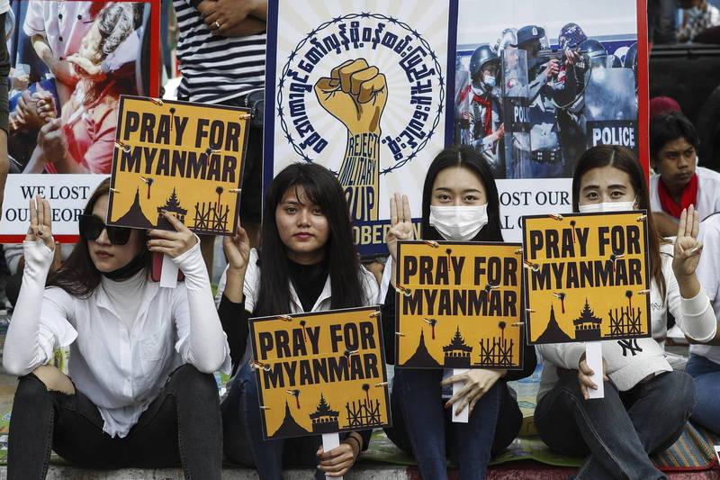 緬甸鎮壓加劇!民眾提「保護責任」呼籲聯合國出手