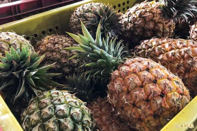 國人熱烈預購鳳梨 4天超過去年銷中總量