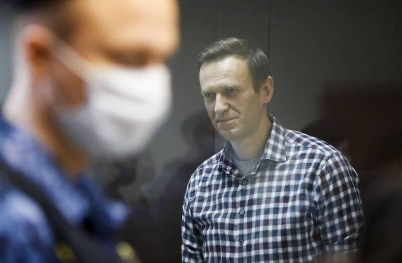 納瓦尼遭毒害又被監禁 美將制裁俄7官員14企業