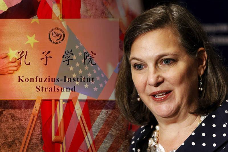 拜登提名出任国务院政治事务次卿的资深外交官卢岚(见图)曾是中国「孔子学院」的捍卫者,不认为对美国构成国安威胁。(本报合成)(photo:LTN)