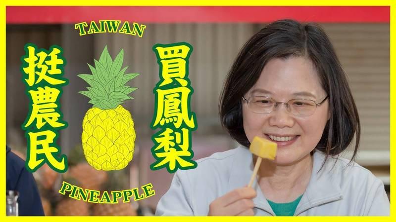 「快點寄來!」蔡英文推特貼出台灣鳳梨 國際網友暴動了 - 政治 - 自由