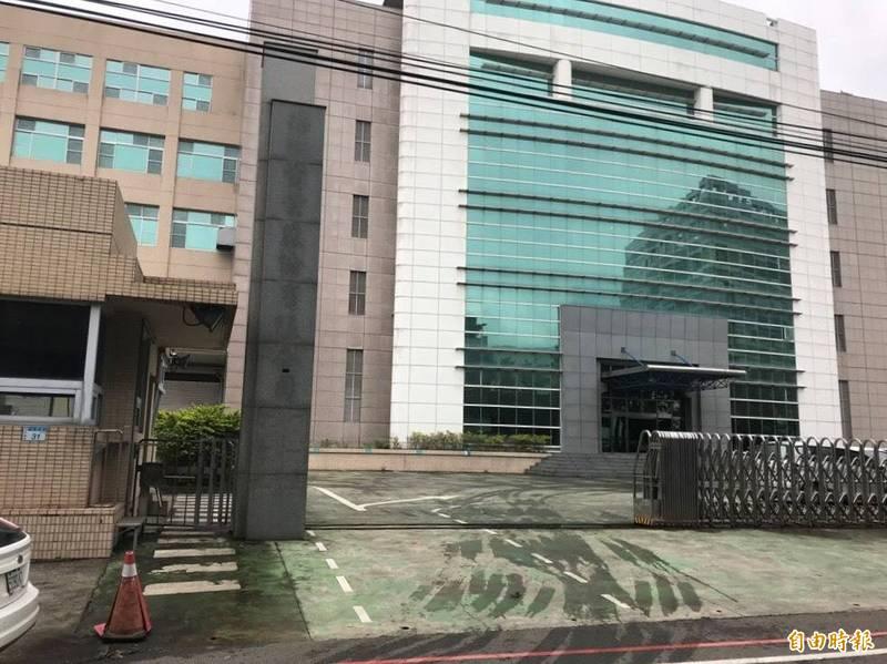 桃園市平鎮區發生電梯事故的電子公司。(記者余瑞仁攝)