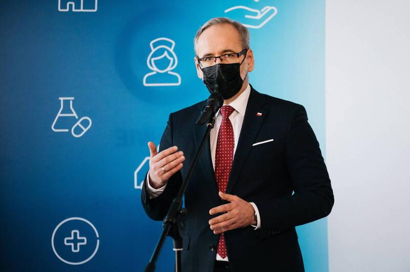 波蘭衛生部長尼澤斯基(見圖)今表示,由於缺乏數據,他目前不建議使用中國公司國藥集團生產的武漢肺炎疫苗。(歐新社)