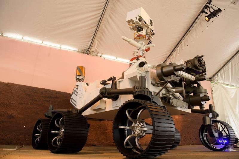 毅力號是目前最尖端的火星探測器。(法新社)