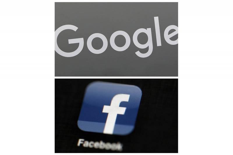 紐西蘭政府有意追隨澳洲的做法,今天呼籲谷歌(Google)與臉書(Facebook)和紐西蘭媒體達成為使用新聞內容付費的協議。(美聯社)