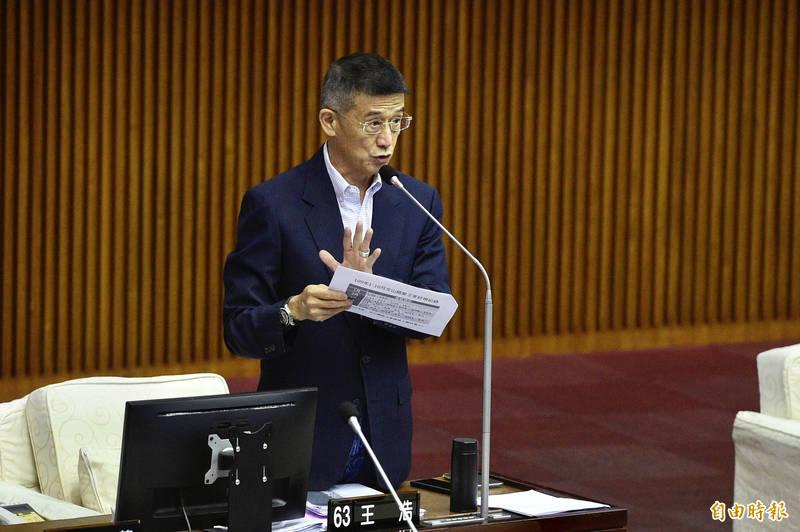 台北市議員王浩。(資料照)