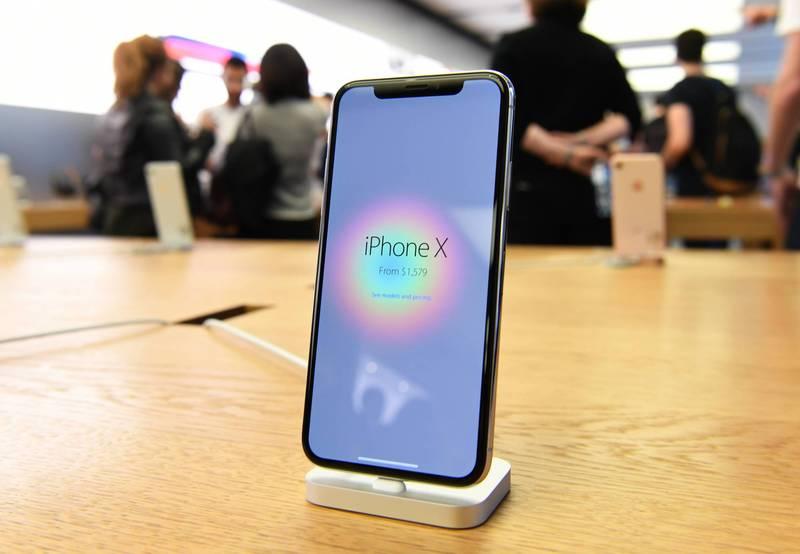 澳洲墨爾本一位兩個孩子的爸爸把iPhone X放在口袋裡,沒想到卻發生爆炸。(歐新社)