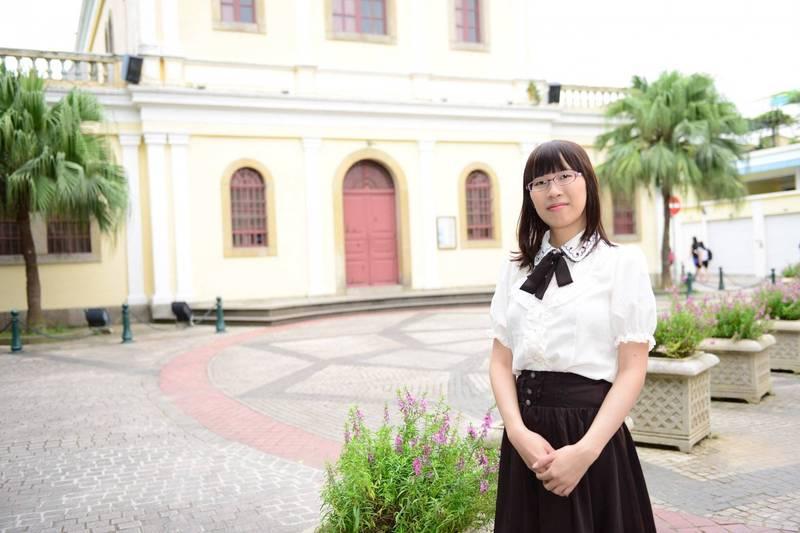 台灣作家李琴峰以作品「北極星灑落之夜」獲得今年日本藝術選獎文部科學大臣新人獎(文學部門)。(資料照,李琴峰提供)