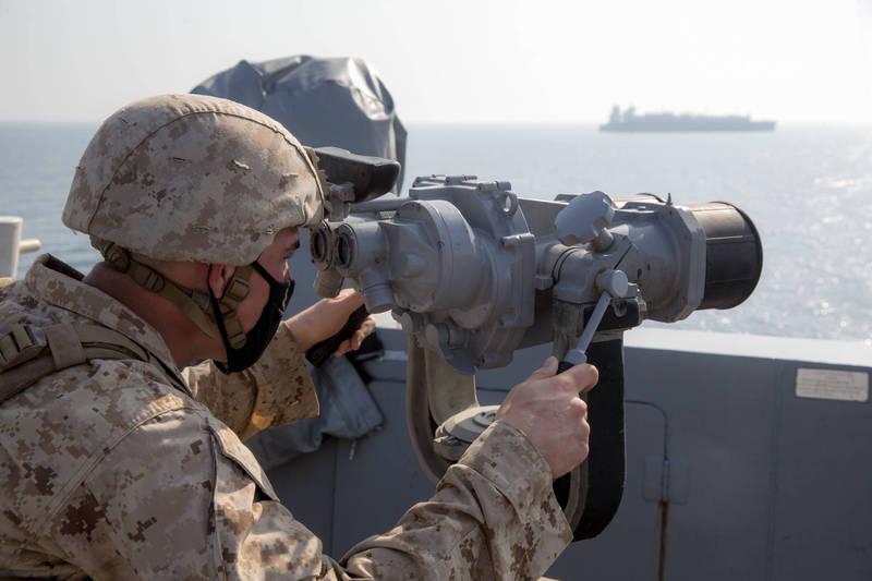 美國海軍印太司令部司令戴維森日前出席虛擬會議時擘劃了提升印太區域軍事能力的四大願景。(圖翻攝自美國國防部官網)