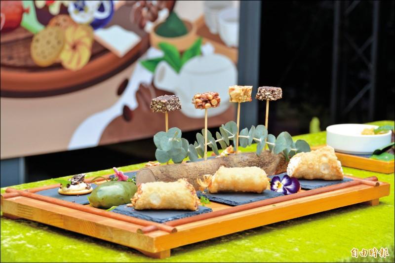 花蓮縣政府與花蓮市形象商圈發展協會合作,打造下午茶節,提供英式、台式與中式風格的午茶。(記者王峻祺攝)