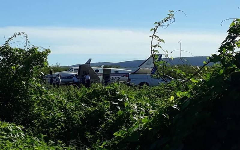 巴西1架載有中國科興疫苗的飛機週三失事,在降落時衝出跑道。(Gazeta5 授權使用)