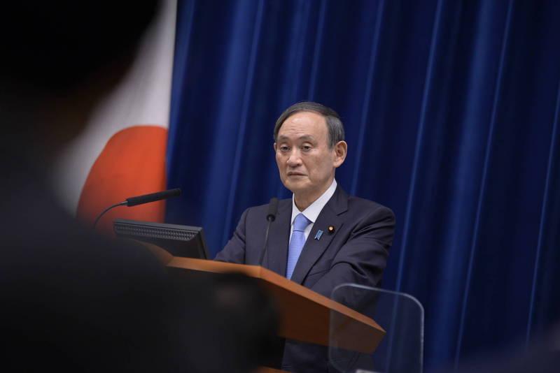 日本首相菅義偉(見圖)強調台灣加入全球防疫圈的必要性。(歐新社)