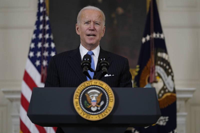 白宮3日公布美國總統拜登(Joe Biden)任內第一份國家安全戰略指南,明確表態支持台灣。(美聯社資料照)
