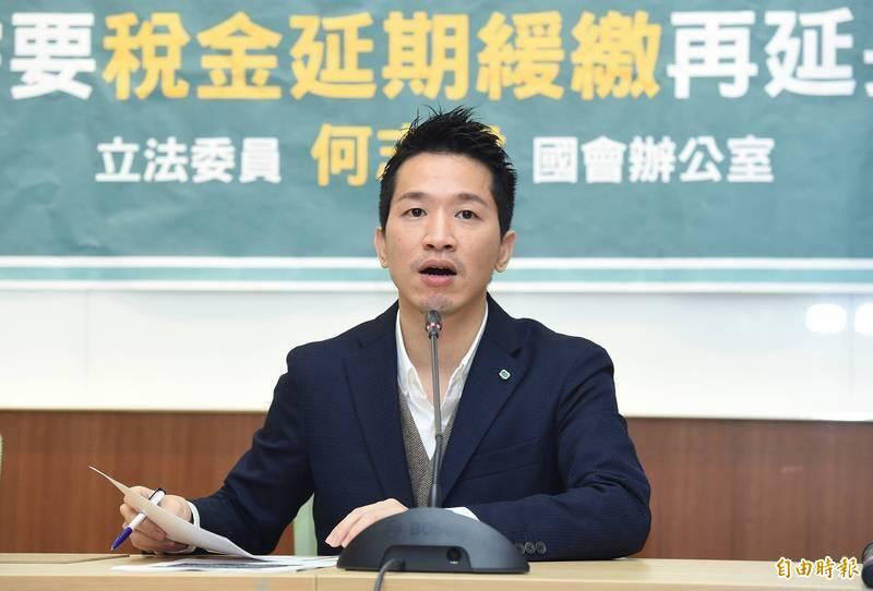 民進黨籍立法委員何志偉。(資料照)