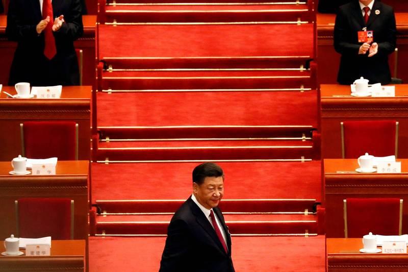 中國問題政論家胡平認為,習近平言論矛盾,雖然談的是法治,卻反而進一步「反法治」。(路透)