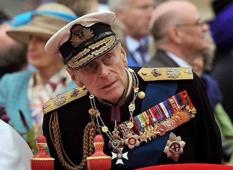 白金漢宮今表示,高齡99歲菲利普親王(見圖)在倫敦的醫院接受了一場「成功」的心臟手術。(美聯社)
