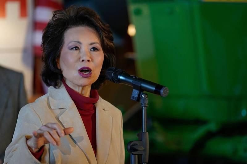 美國運輸部督察長辦公室指出,前華裔運輸部長趙小蘭任內利用政府資源協助家人拓展與中國的生意。(路透檔案照)