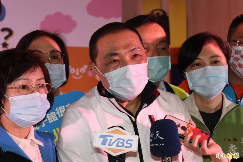 江啟臣「中國威脅論」侯友宜:「溝通交流、創造雙贏」