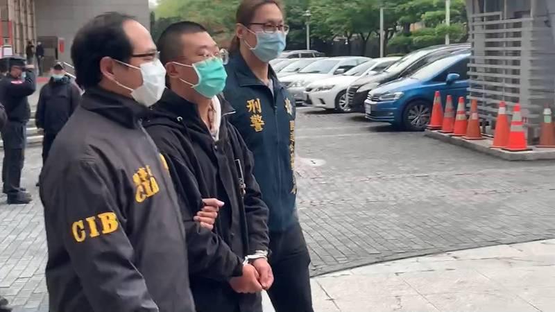 警方將蘇嫌移送檢方偵辦。(記者邱俊福翻攝)
