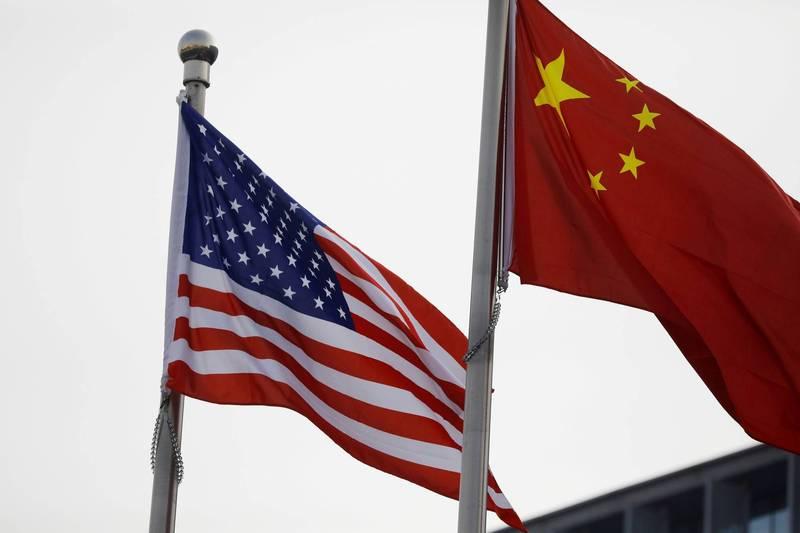 皮尤調查顯示,近9成美國人視中國為競爭對手而非夥伴。(路透)