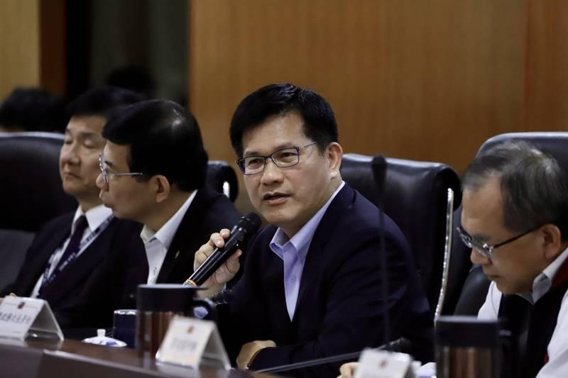 交通部長林佳龍表示,中市府應審慎評估市府預算編列與財政負擔,才能更有利於藍線捷運加速執行。(資料照,交通部提供)