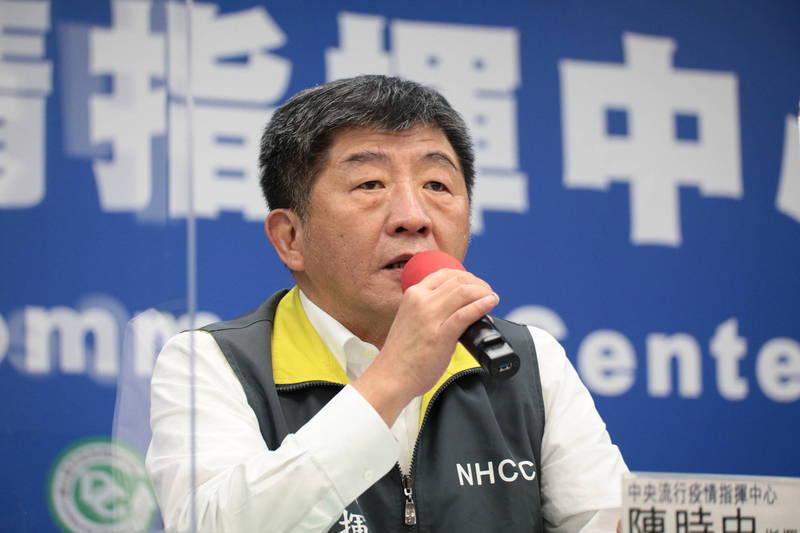 衛福部長陳時中今赴立法院備詢前受訪說,國產疫苗量產時間大約在7月。(資料照)
